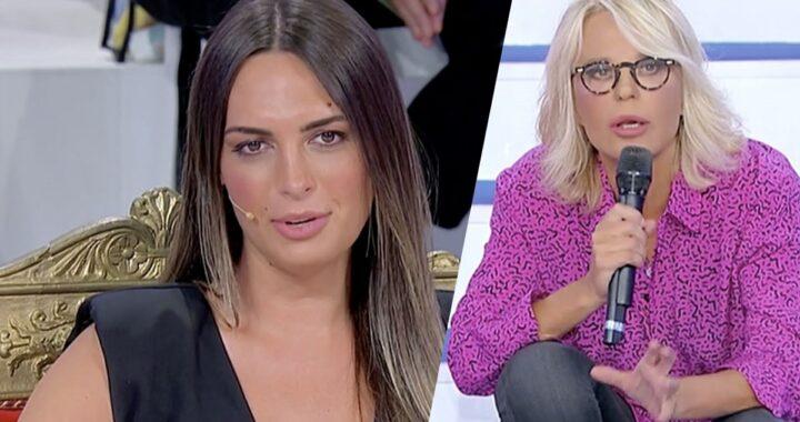 """UeD: Maria De Filippi su Andrea Nicole: """"Continuo a guardarti come un'imbecille"""""""