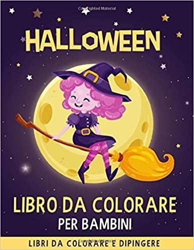 Halloween libro da colorare per Bambini