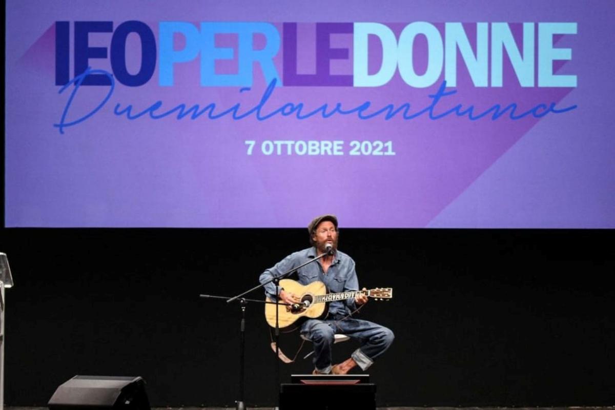 Le parole di Jovanotti all'evento organizzato da IEO