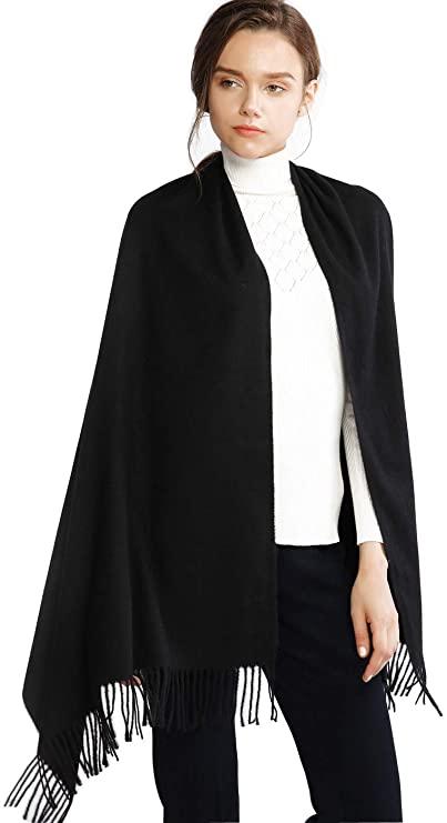 RIIQIICHY sciarpa scialle invernale elegante e lunga
