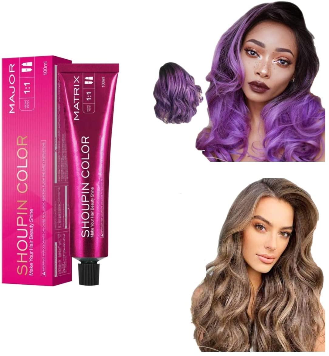 Shampoo colorante per capelli SANHAN Glamup, senza ammoniaca, vegano e cruelty free