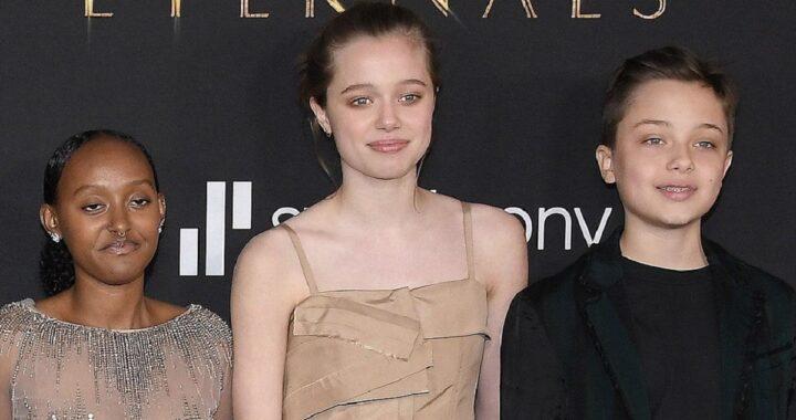 Shiloh Jolie Pitt sul Red Carpet: l'abito da ragazza che nessuno si aspettava