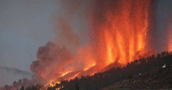 in spagna eruzione vulcanica