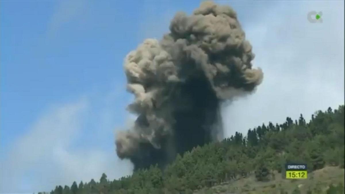vulcano cumbre vieja