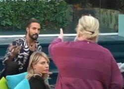 GF Vip: Lite tra Katia Ricciarelli e Alex Belli