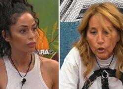 GF Vip: Raffaella Fico attacca Jo Squillo
