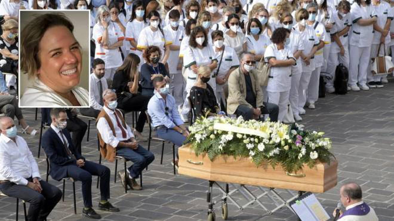 Funerali dell'infermiera