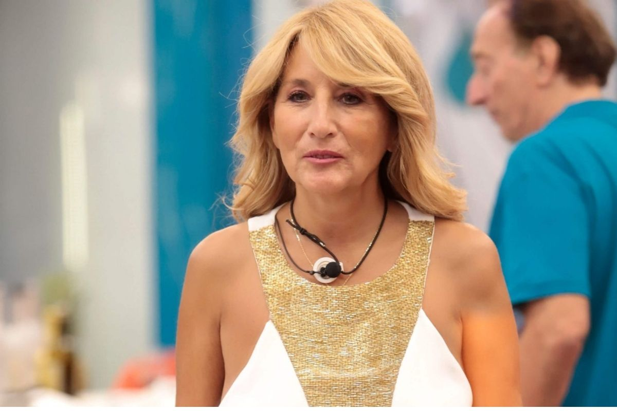 Jo Squillo furious for Gianmaria's nomination but Davide Silvestri blocks her