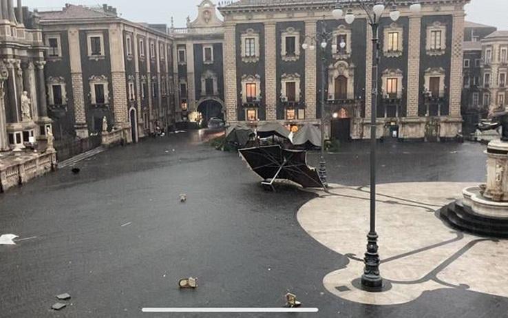 Pioggia in Sicilia