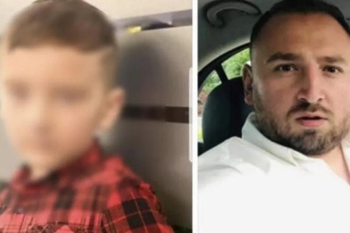 rapito bimbo 5 anni