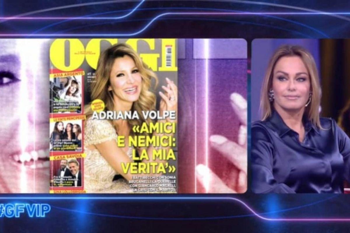 Sonia Bruganelli lite con Adriana Volpe