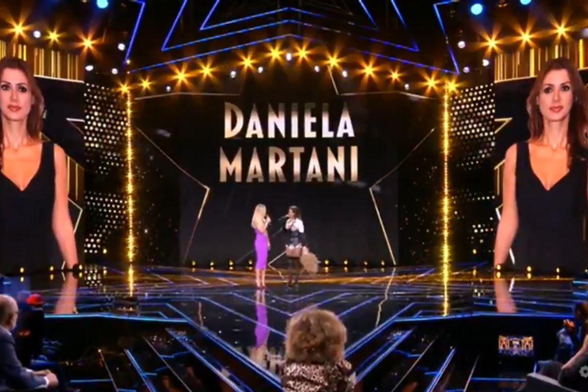 Star in the star Daniela Martani