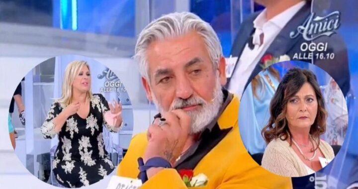 UeD: Biagio Di Maro scarica Rosy in studio