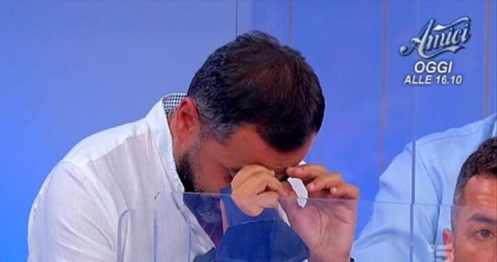 UeD: Marcello Messina scoppia in lacrime