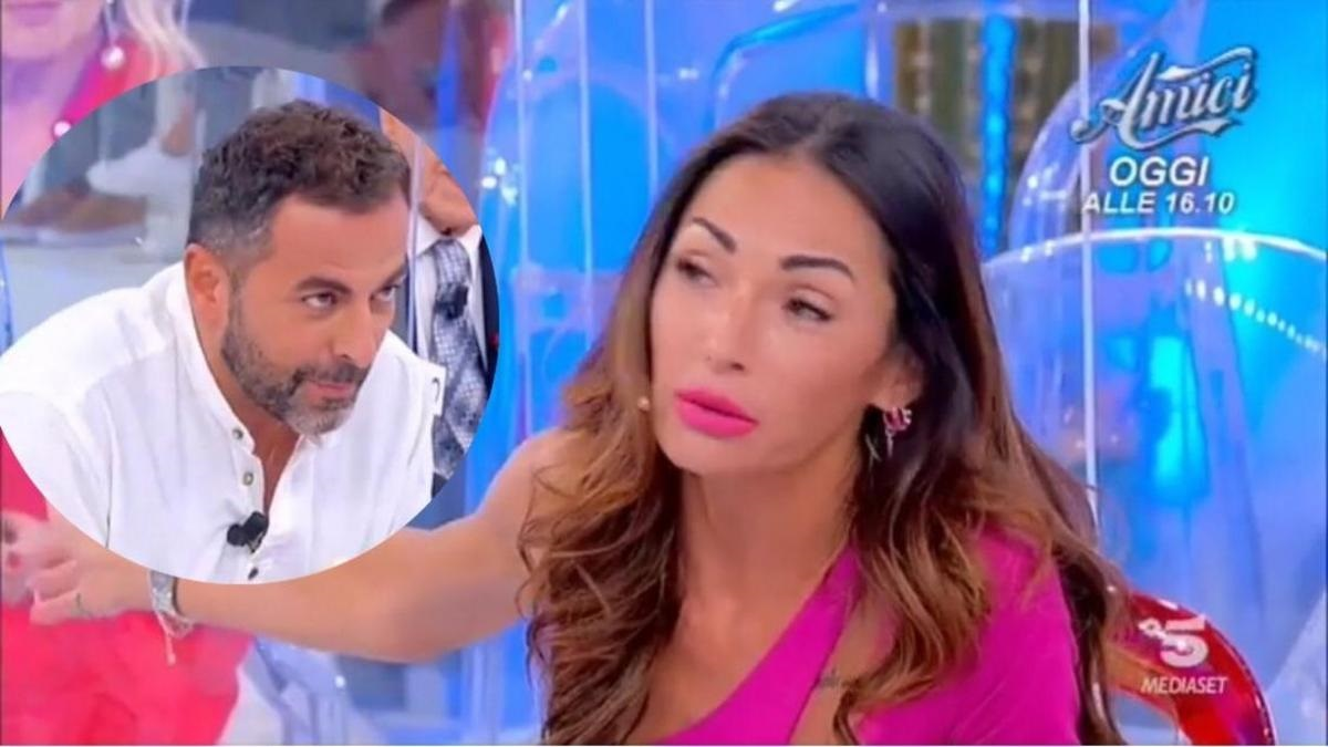 UeD: Marcello Messina bursts into tears