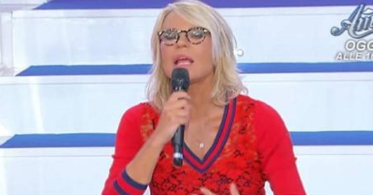 UeD: Maria De Filippi zittisce Tina Cipollari